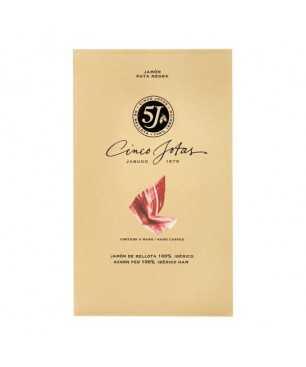 Cinco Jotas (5J) Jabugo Ham 100% Iberico bellota Pata Negra sliced by hand