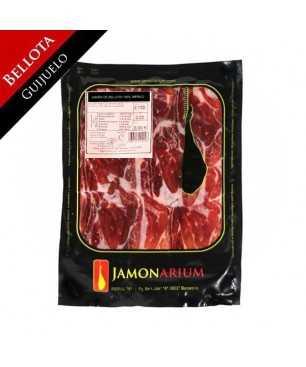 """Jambon Bellota 100% ibérique (Guijuelo, Salamanca) """"Pata Negra"""" tranché 100g"""