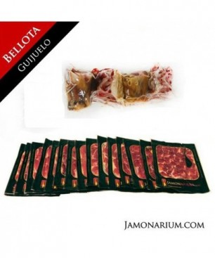 Iberico Bellota Shoulder (Guijuelo, Salamanca), 100% iberian breed - Pata Negra WHOLE sliced