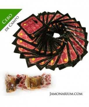 Cebo de Campo Iberico Ham, 50% Iberian Breed - WHOLE sliced