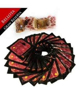 """Iberische Bellota Palette """"Gran Reserva 3 Jahre"""", 50% Iberisches Brot - GANZ geschnitten"""