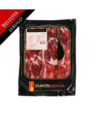 Jambon de Bellota Ibèrique (Jabugo, Huelva), 100% race ibèrique - Pata Negra tranché 100g