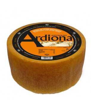 Käse Ardiona Roncal aus Schafmilch geräuchert GANZE 2.8 kg