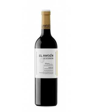 Muga andén de la estación red wine D.O. Rioja