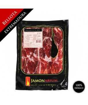 Jambon Bellota 100% pure ibérique (Extremadura) - Pata Negra tranché 100g