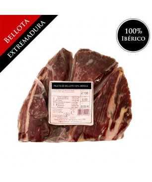 Bellota 100% Iberischen Vorderschinken (Extremadura) - Pata Negra OHNE KNOCHEN - punta