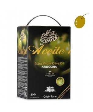 Más Tarrés Arbequina 3l, Extra virgin olive oil, DO Siurana
