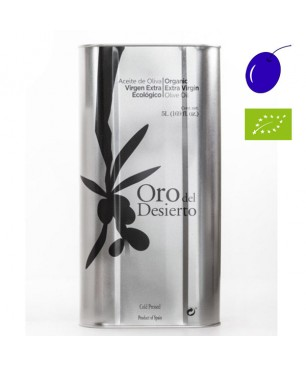 Oro del Desierto Coupage bio 5l, Huile d'Olive Extra Vierge