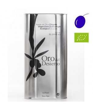 Oro del desierto Coupage Organic 5l, Extra Virgin Olive Oil