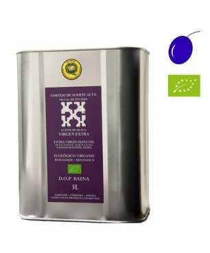 Cortijo de suerte alta Picual en envero organic 3l, Organic Extra Virgin Olive Oil, D.O. Baena