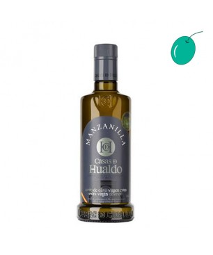 Casas de Hualdo Manzanilla 500ml, huile d'olive extra vierge