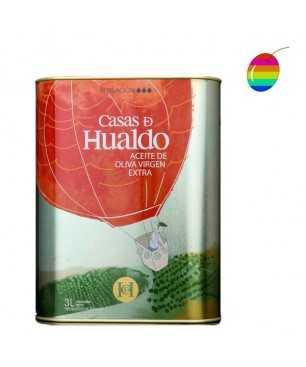 """Casas de Hualdo """"Sensación"""" Coupage 3l, Huile d'olive Extra Vierge"""