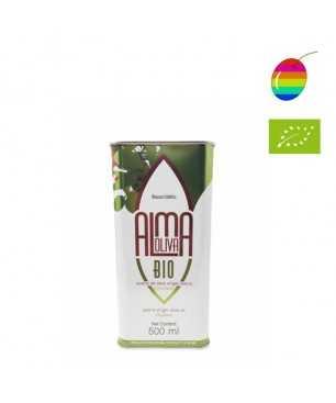 Almaoliva Coupage bio 500ml, Huile d'Olive Extra Vierge de Cordoba