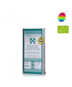 Marqués de Prado Selección Familiar Coupage bio 500ml, Huile d'Olive Extra Vierge