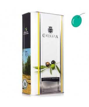 La Chinata Manzanilla 5l, Huile Olive Extra Vierge