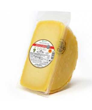 Formatge Bideki madurat llet d'ovella latxa, D.O. Idiazabal - 1/2 formatge