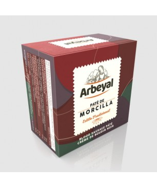 Patè di salsiccia di sangue Arbeyal