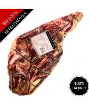 Jamón de Bellota 100% Ibérico (Extremadura) - Pata Negra DESHUESADO