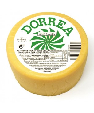 Dorrea-Käse reifte rohe Schafsmilch