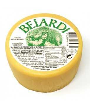 Queso madurado Beiardi mezcla leches crudas de oveja y vaca