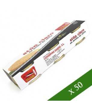 BOX x40 - Tonno chiaro in olio di oliva Dardo (Pack 3)