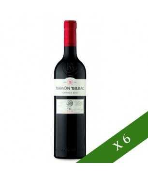 BOX x6 - Ramón Bilbao Rosso Crianza, D.O. Rioja