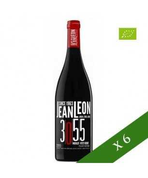 BOX x6 - Jean Leon young red 3055 Merlot Petit Verdot organic, D.O. Penedes