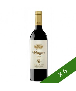 CAIXA x6 - Muga Reserva negre, D.O. Rioja