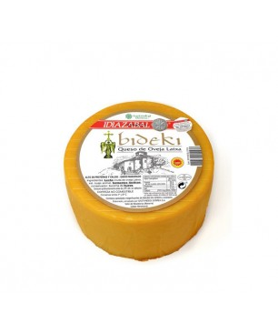 Smoked cheese Bideki latxa sheep milk, D.O. Idiazabal