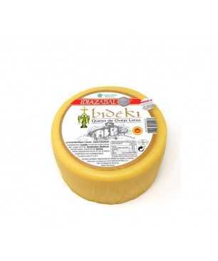Queso Bideki madurado leche de oveja latxa, D.O. Idiazabal