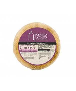 Pure sheep cured cheese Rosario Castaño WHOLE mini 600 gr