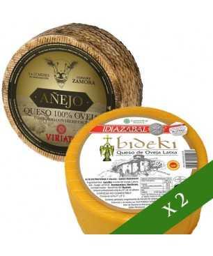 Pack x2 Cheese - DO Idiazabal + Viriato Añejo