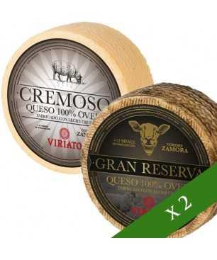 Pack x2 Käse - DUO VIRIATO - Cremoso & Gran Reserva