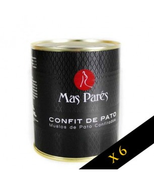 PACK 3 UNIDADES - Confit de pato Mas Parés (2 raciones)