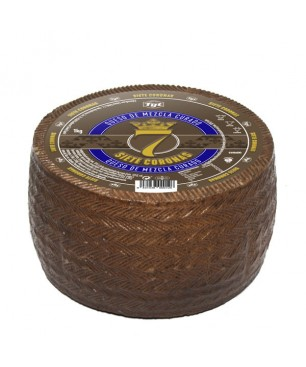 Cheese matured mixed (brevis, cow, goat) 7 coronas WHOLE 3 kg