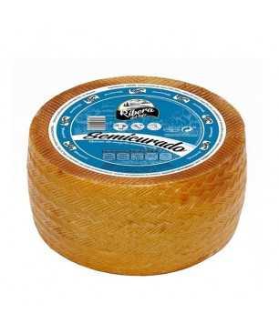 Semi-cured mixed cheese (cow sheep goat) Ribera del Tajo WHOLE 3Kg