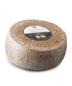 Queso de leche de cabra artesano y ecológico El Garet Gran 3 kg.