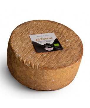 "Organic and artisan matured cow and goat milk cheese ""El Torrat"" Mas el Garet 500g"