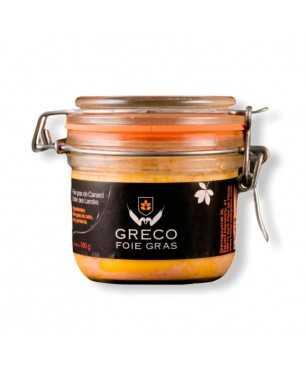 Foie gras integrale di Greco (180g), IGP Landes