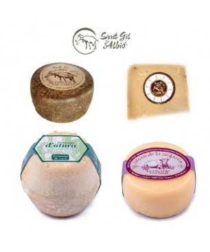 Geschenkset Käse Sant Gil d'Albió - Handwerkliche Käsereien
