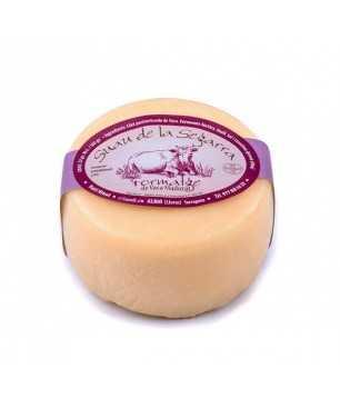 Formatge semicurat de Vaca Suau de la Segarra Sant Gil d'Albió - entero 500g