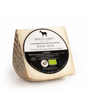 Queso de leche de cabra artesano y ecológico El Garet Gran - CUÑA