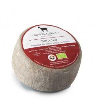 Formatge de cabra Garrotxa artesà i ecològic Mas el Garet 500gr
