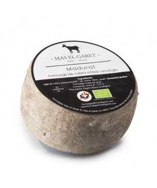 Queso de leche de cabra madurada ecológico Mas el Garet 500g