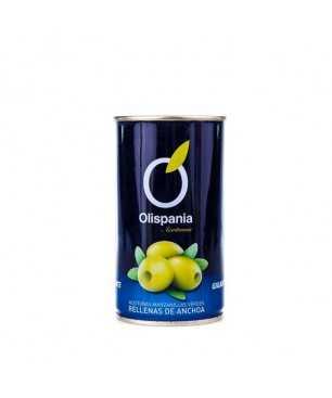 Olives farcides d'anxova Olispania 150 g