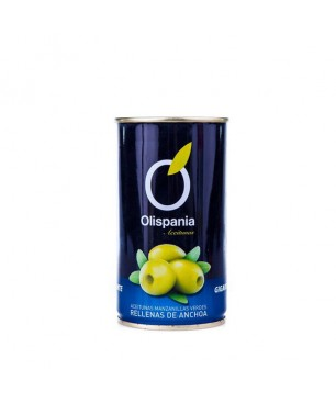 Olives stuffed with anchovies Olispania 150 g