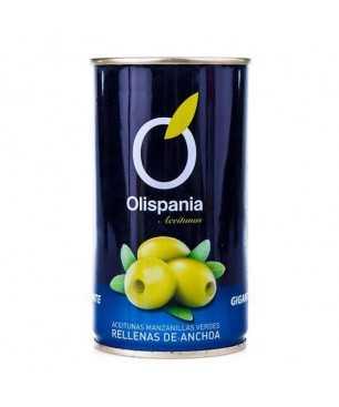 Olives stuffed with anchovies Olispania 600 g
