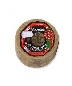 Fromage Ronkari semi-sec de lait cru de brebis 3Kg (Vallée de Ronacal)