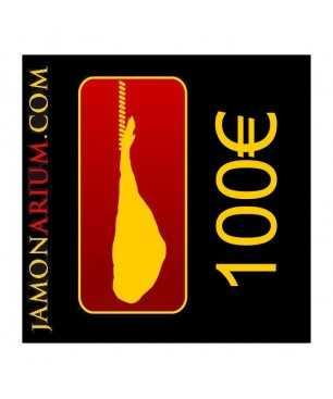 Cheque regalo 100€ para comprar en Jamonarium.com