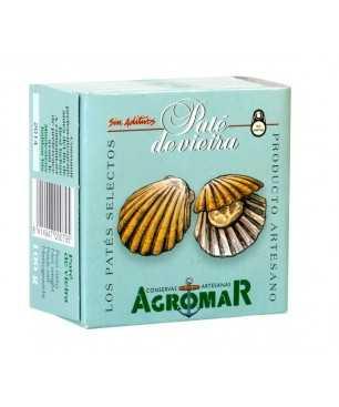 Paté de petxina del pelegrí (Vieira) Agromar